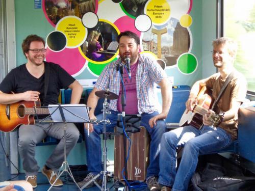 2015-07-14 Zug Zur Kultur, Regensburg-Pilsen (CZ)